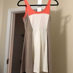 Color block dress from express